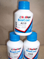 Max Meyer Tinter A660 0.5 Litre Bottle  Waterbased Paint Made By Ppg