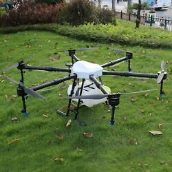6axis Agriculture Drone 1650mm Agricultural Uav Drone Frame Capacity 15l Tank