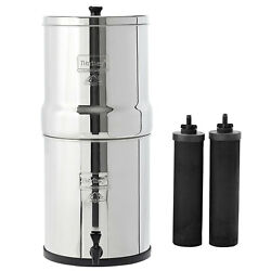 Big Berkey Water System With Black Filters And/or Fluoride Filters 2.5 Gal
