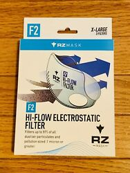 New Rz Replacement Respirator Filter F2- 3 Pack Size Xl For Rz Masks