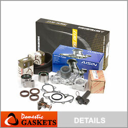 Timing Belt Kit Water Pump Thermostat W/o Pipe Fit 95-04 Toyota 3.4 5vzfe