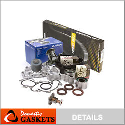 Timing Belt Kit Water Pump Thermostat W/o Oultet Pipe Fit 95-04 Toyota 3.4 5vzfe