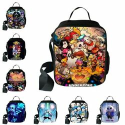 Anime Undertale Insulated Lunch Bag Totes Cooler Bento Lunch Box Children School $14.56