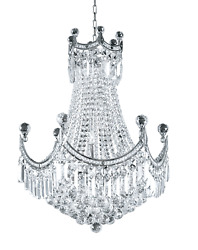 Asfour Crystal Chandelier Foyer Dining Room Kitchen Ceiling Fixture 18 Light 32