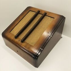 Vintage Wall Speaker 6 To 8 Ohm. Tested - Watch Video