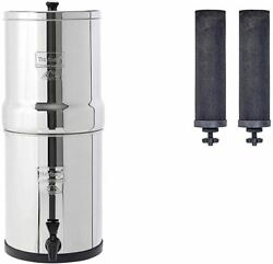 Travel Berkey Water System With Black Filters And/or Fluoride Filters 1.5 Gal