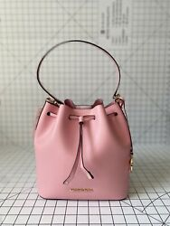 NWT Michael Kors Eden Medium Bucket Bag Smooth Leather Shoulder Bag $99.00