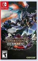Monster Hunter Generations Ultimate - Nintendo Switch - Brand New Sealed