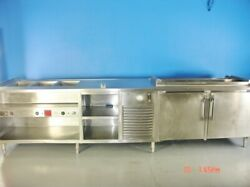 Avtec Hot And Cold Food Buffet Serving Line Warming Table Food Warmer Salad