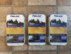 Lot Of 3 Trilink 8 Chainsaw Chain S33 New Fits Homelite, Greenworks, Earthwise