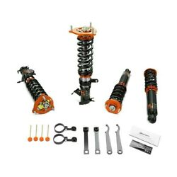 For Mitsubishi Mirage 97-01 Coilover Kit 0.5-2.5 X 0.5-2.5 Gt Pro Front And