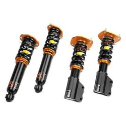 For Honda Accord 98-02 Coilover Kit 0.5-2.5 X 0.5-2.5 Road Racing Front And