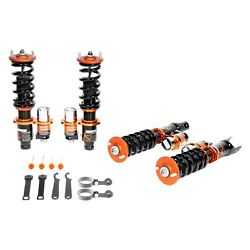 For Saab 9-3 06-11 Coilover Kit 0.5-2.5 X 0.5-2.5 Kontrol Plus Front And Rear