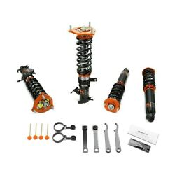 For Mitsubishi Eclipse 00-05 Coilover Kit 0.5-2.5 X 0.5-2.5 Gt Pro Front And
