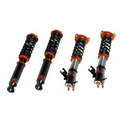 Ksport 0.5-2.5 X 0.5-2.5 Asphalt Rally Front And Rear Lowering Coilover Kit