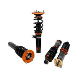For Audi A4 96-01 Coilover Kit 0.5-1.5 X 0.5-1.5 Kontrol Sport Front And Rear