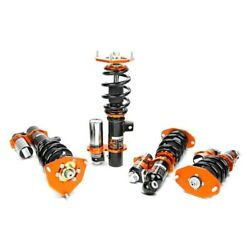 For Volvo S60 14-18 Coilover Kit 0.5-2.5 X 0.5-2.5 Kontrol Plus Front And Rear