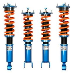 For Infiniti Q60 2017-2019 Ark Performance Dt-p Front And Rear Coilover Kit