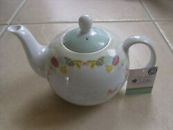English Table And039happy Easterand039 Decorative Teapot