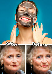 Anti Aging Healthy And Beauty Skin Care Dead Sea Face Mud Mask 1+1