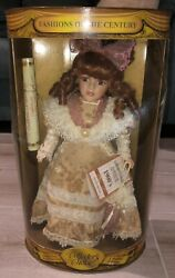 Collectors Choice Fashions Of The Century 1900's Limited Edition Porcelain Doll