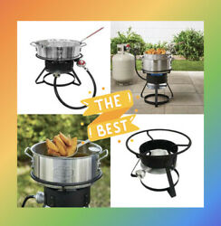 Aluminum Basket For Frying Fries Chicken Fish / Deep Fryer / Gas Stove New