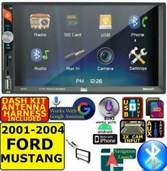 2001-2004 Ford Mustang Bluetooth Usb Sd Aux Car Radio Stereo
