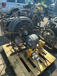 Liquid Controls Pump Veeder Root Meter And Hose Reel Oil Truck Takeout Of Wreck