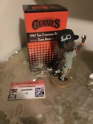 Sf Giants Kevin Mitchell 1987 Team Reunion Signed Bobblehead New In Box