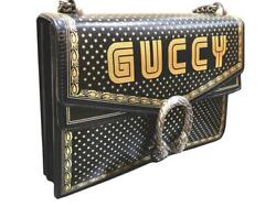 Guccy Dionysus Leather Bag Rrp Andpound2995- Dust Bag + Cards Included