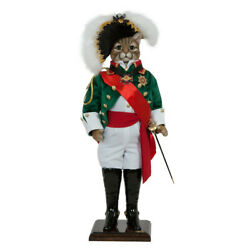 Collectible Doll Admiral Duncan The Cat Designer Exclusive Handmade Luxury Gift