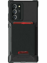 Wallet Galaxy Note 20 Note 20 Ultra Case with Card Holder Magnetic Ghostek Exec $29.95