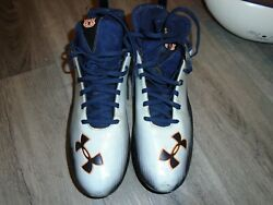 Auburn Tigers Football Michael Dyer Game Used Bcs Championship Cleats And More