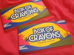 The Crayon Case Box Of Crayons Ishadow Eyeshadow Palette
