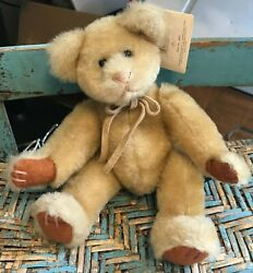 Russ Berrie 'blair' Nwt - Bears From The Past 4921-collectible Teddy Bear 8.5
