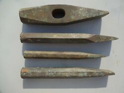 4pcs Vintage Us Navy Bronze Wrenches Berylco Be-cu