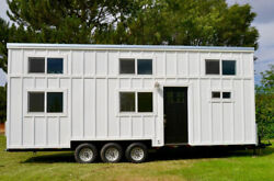Brand New 32 Ft Big Tiny House On Wheels Shell Thow Complete Home Shell 8.5 Wide