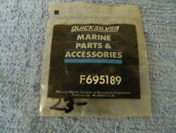 Mercury Marine Part F695189 Bushing, U-joint And Housing, Force Outboards