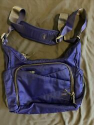 REI Tranquility Shoulder Bag Or PurseTravel Women's Crossbody Purple Adjustable $33.00