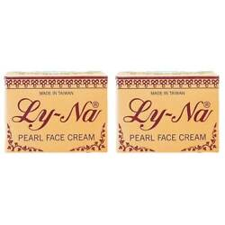 2 Bottles Ly-na Pearl Face Cream 10g