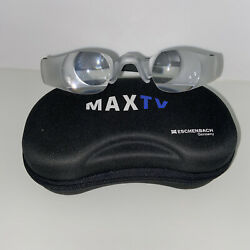 Max TV Glasses Authentic 2.1x Magnifying Eschenbach Germany With Case $38.50