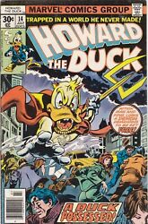 Howard The Duck Issues 14 And 26 Bronze Marvel Comic 1977