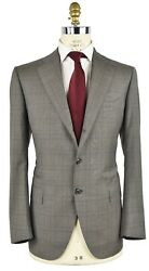 New Cesare Attolini Suit 100 Wool 160and039s Size 44 Us 54 Eu R7 18av31