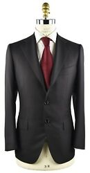 New Cesare Attolini Suit 100 Wool 160and039s Sz 38 Us 48 Eu 7r 18avw12