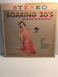 Billy Randolph And The High Hatters - Roaring 20s - Vinyl Album - Crown Records