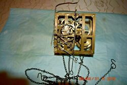 Antique Cuckoo Clock Movement From Wall Cuckoo Clock With Chains For Project