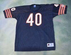 Vintage Champion Nfl Chicago Bears Gale Sayers 40 Jersey Size 48__made In Usa.