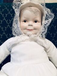 Vintage 3 Faces Of Eve Doll Happy Sad Sleeping - Excellent Condition