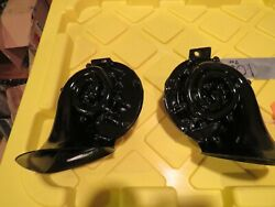 58 59 60 Corvette Horn 351 And 352 Rh/lh Horns-orig Gm Delco Remy--prof Restored
