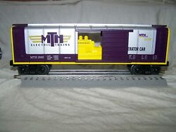 Mth 30-74223 O Gauge Rounded Roof Boxcar W/generatorrtr